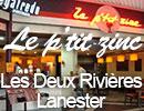 Le P'tit Zinc - Bar brasserie Les Deux Rivières - Lanester